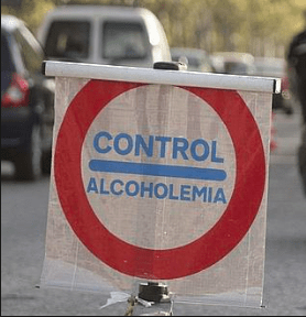 (Control alcoholemia positivo Málaga).